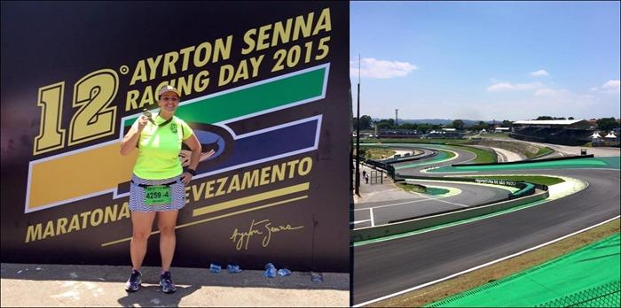 ayrton senna racing day percurso