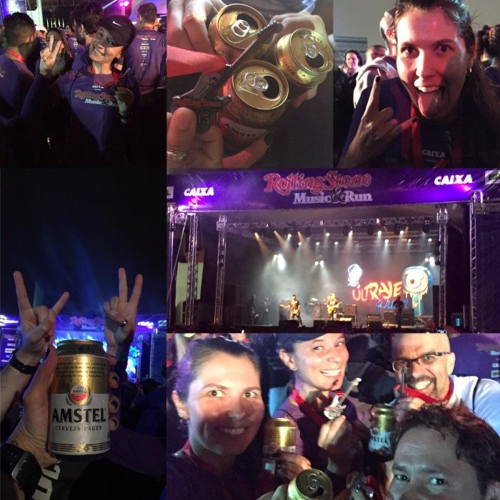 Show Ultraje a Rigor, cerveja, amigos, diversão!